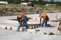 construction, tilt-up construction, forms, wood, cut, slab, bracket