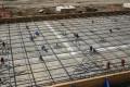 construction, tilt-up construction, forms, wood, cut, slab, bracket, embed, insert, rebar