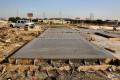 construction, tilt-up construction, tiltwall, forms, wood, cut, slab, bracket, embed, insert, rebar, panel